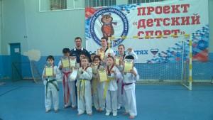 Юный спортсмен Морозовка 13 марта 2016