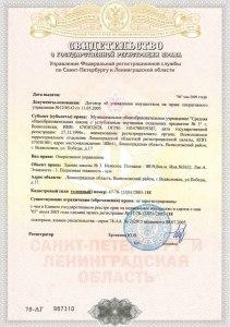 свидетельство о государственной регистрации права здания